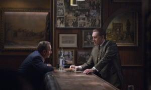 Joe Pesci and Robert De Niro in The Irishman.