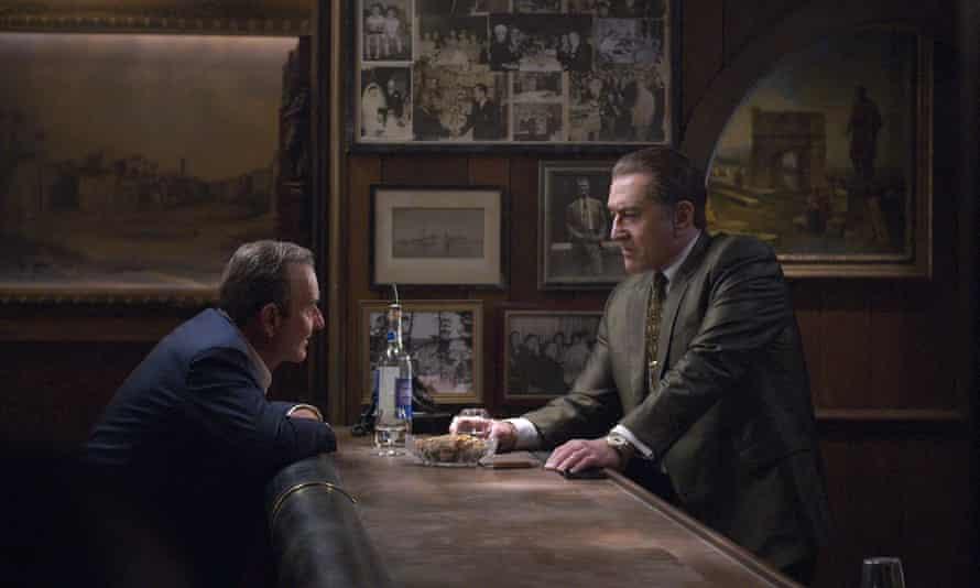 Joe Pesci, left, and Robert De Niro in Martin Scorsese's The Irishman.