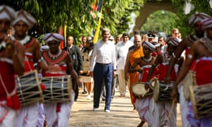 John Kerry in Sri Lanka