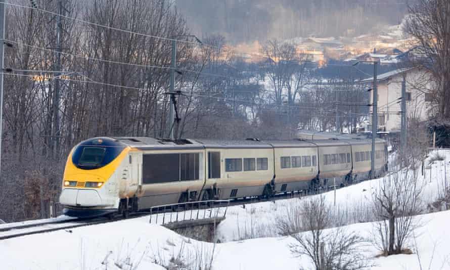Eurostar's ski train.