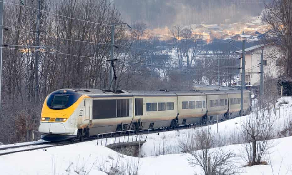 The Eurostar train to the French ski resorts will run weekly from London every Friday evening.