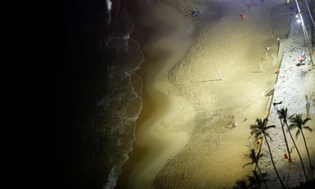 Rio's famous beaches take battering as scientists issue climate change warning