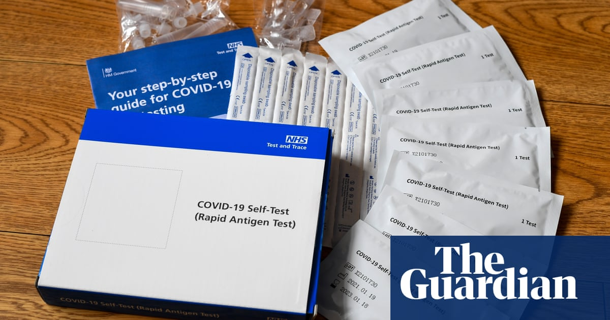 Almost 600m NHS home Covid tests unaccounted for, auditors reveal
