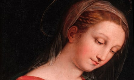 The Virgin by Innocenzo Francucci da Imola, now believed to be a Raphael