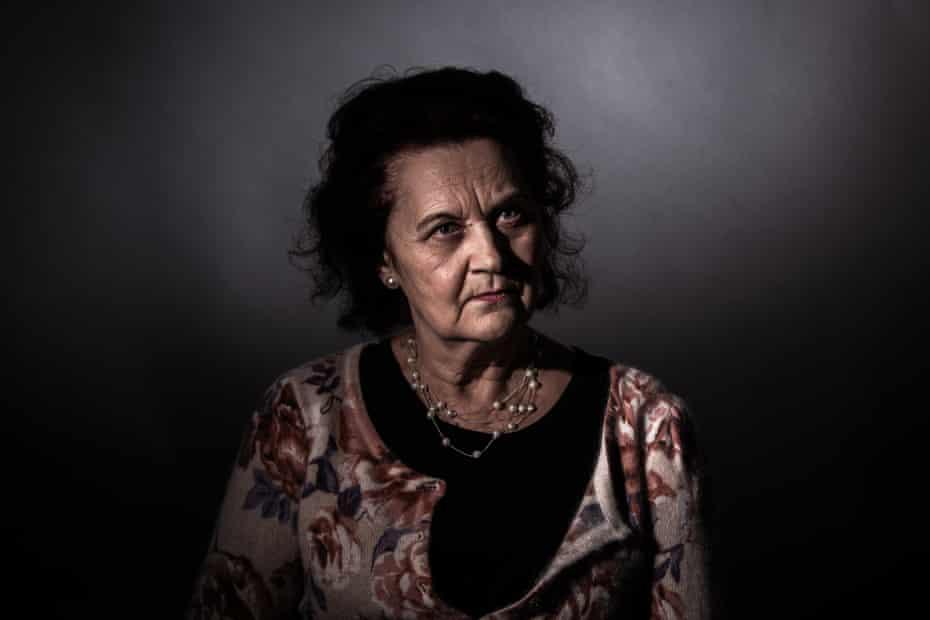 A portrait of Agota Ruzicka