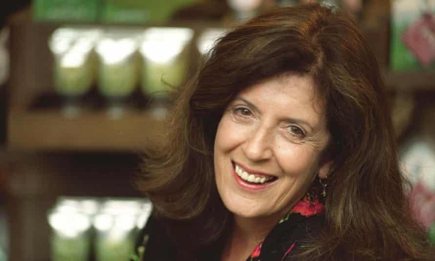 Anita Roddick, who founded the company 40 years ago.