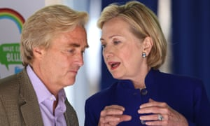 Jim Steyer with Hillary Clinton
