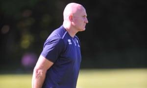 Nathan Graham takes Scotland training.