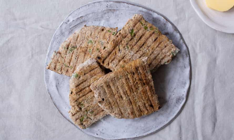 Farls: a type of Irish soda bread – makes perfect use of sour milk.