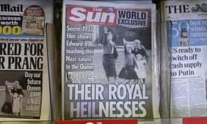 The Sun's front page provoked a variety of opinions on Twitter