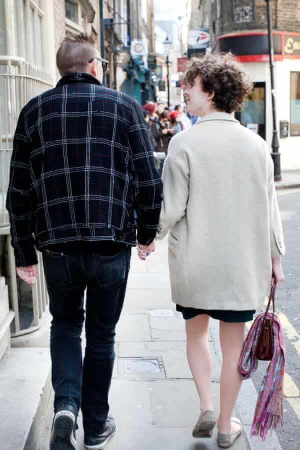 Walking:Holding