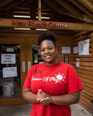 Candice James, manager of the Max Roach Loughborough Community Centre.
