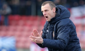 Oran Kearney led Coleraine to the Irish Cup while working as a teacher in his native Northern Ireland.