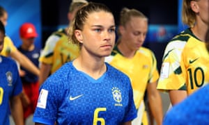Tamires was the pick of Brazil's players