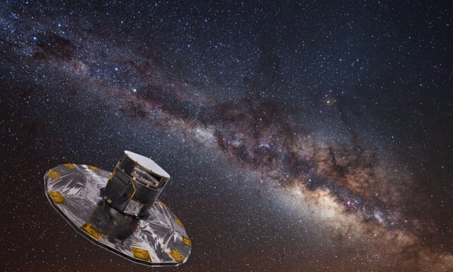 Astronomers unveil most detailed map of the Milky Way to date ...
