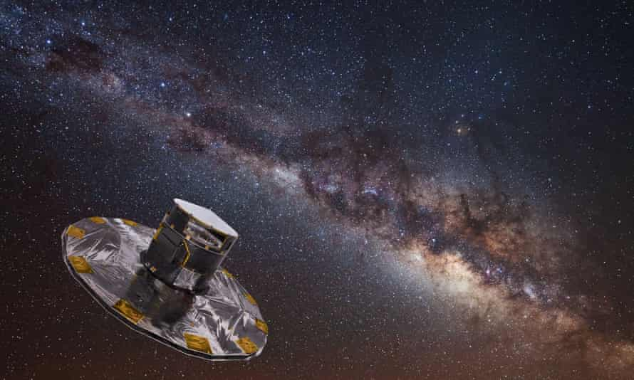 The Gaia observatory, which has mapped the precise position and brightness of more than a billion stars in the Milky Way