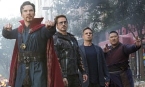 The People's Choice movie of 2018 … Avengers: Infinity War.