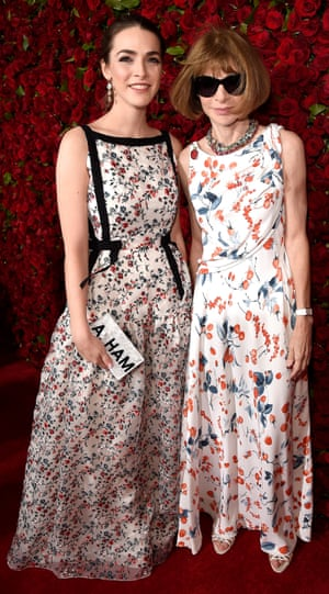 Magazine editor Anna Wintour, with her daughter Bee Shaffer