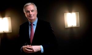 European chief negotiator for the UK exiting the EU, Michel Barnier.
