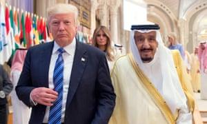 donald trump saudi