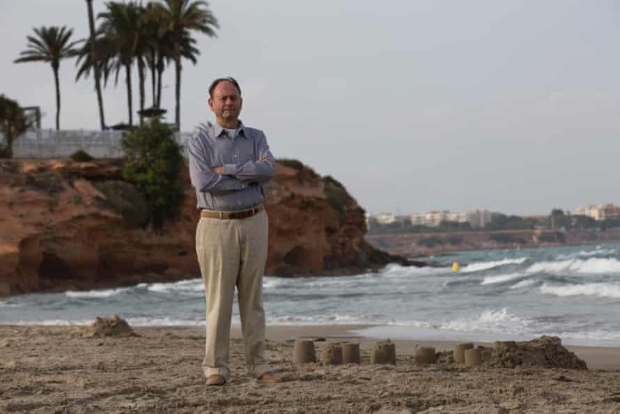 Bob Houliston, former EU official and resident of Orihuela Costa.