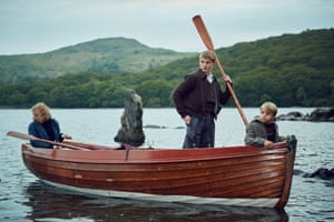 Putting their oar in: Swallows and Amazons.