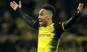 Pierre-Emerick Aubameyang is expected to complete his move to north London if Borussia Dortmund can secure a replacement.