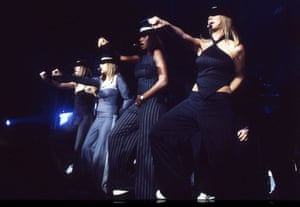 All Saints on stage in Ibiza in 2001.