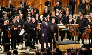 Can-do attitude … London Symphony Orchestra conducted by Can's Irmin Schmidt.