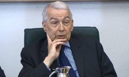 Labour's Frank Field