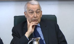 Frank Field, chair of the Commons work and pensions committee.