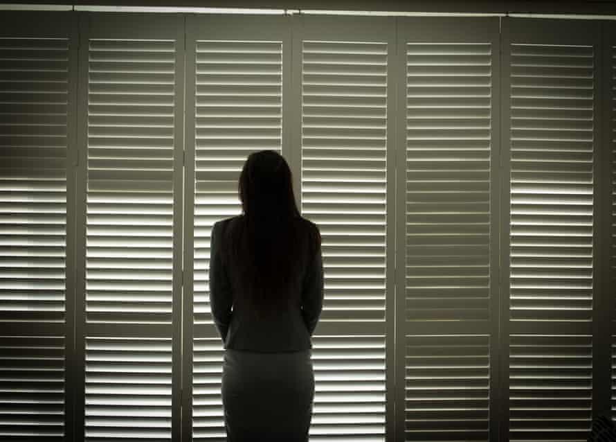 Domestic violence victim Julie