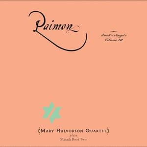 The sleeve of Mary Halvorson Quartet's Paimon: the Book of Angels Volume 32