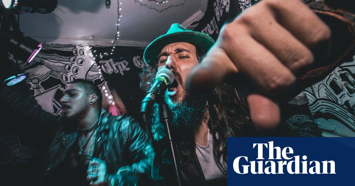 'You've got long hair, I've got long hair!' The loud, joyful community of rock bars