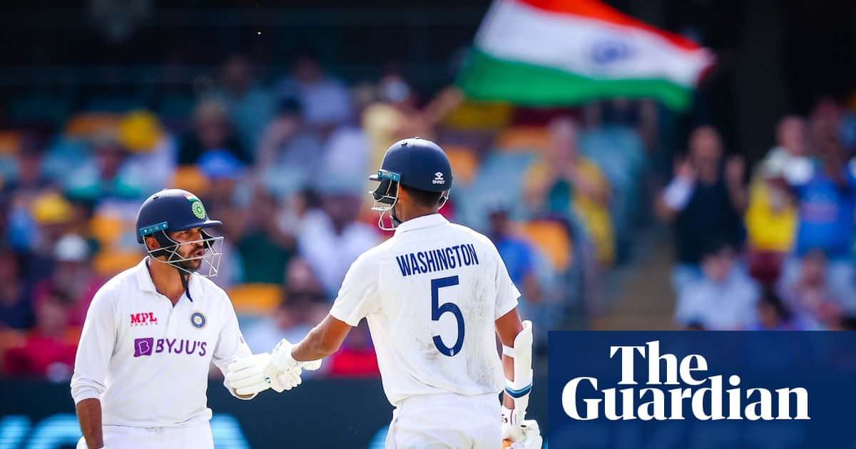 Australia frustrated as unheralded India duo put series decider on a knife edge