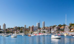 Yachts and waterfront properties in Sydney