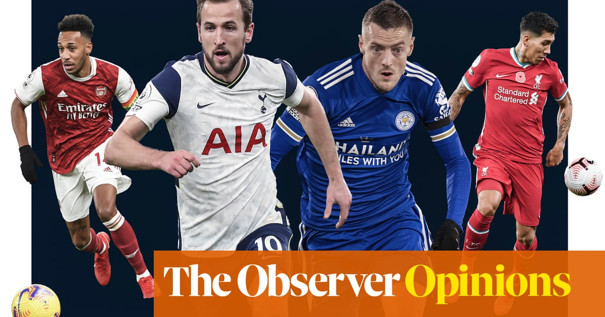 From Aubameyang to Kane, forwards today pose strikingly different threats | Jonathan Wilson
