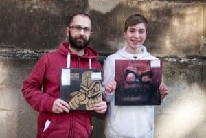 Shaun and Seth Warren in Bristol