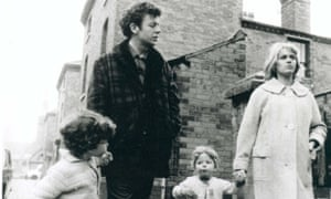 Still from Cathy Come Home with Carol White, Sean King,  Ray Brooks and Stephen King