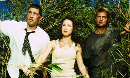 Jack, Kate and Sawyer in Lost.