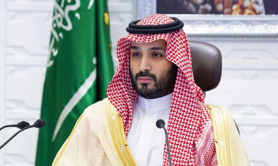 Saudi Arabia's Crown Prince Mohammed bin Salman