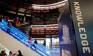 """'One student interviewed by the Guardian on the library's opening in 2013 called it a """"statement of intent"""", showing that Birmingham was a city that cared about learning and the advancement of its people.'"""