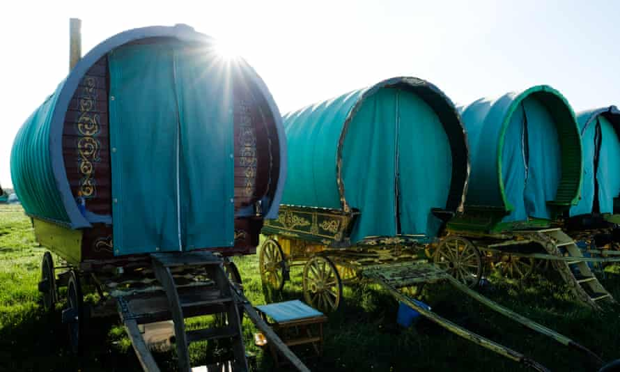 Caravans.