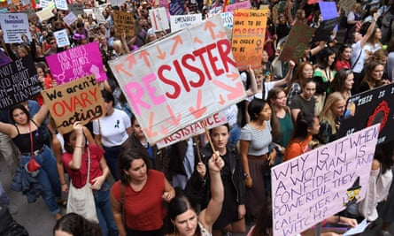Thousands march to mark International Women's Day in Melbourne on 8 March 2019