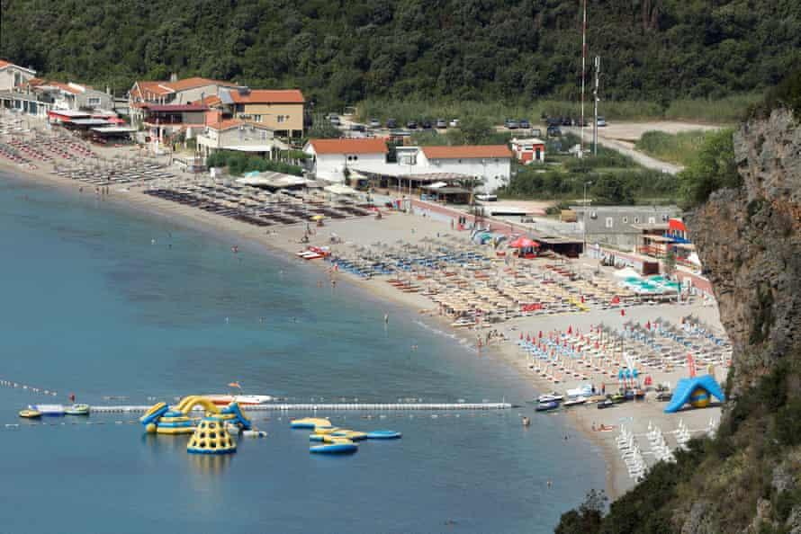 Jaz beach.
