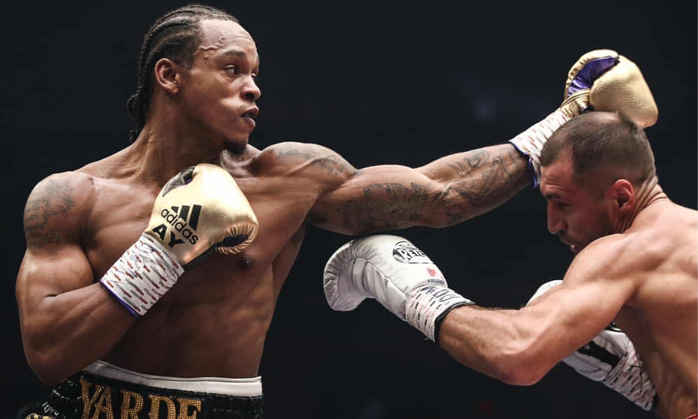 Anthony Yarde brave but beaten in WBO title fight against Sergey Kovalev