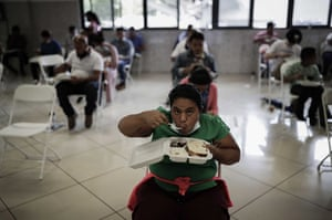 Nicaraguans who have fled to Costa Rica receive assistance from human rights organisations