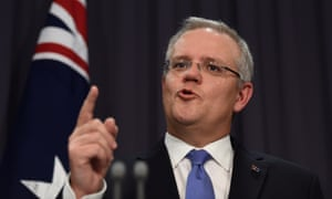 Scott Morrison speaks about the midyear economic and fiscal outlook (Myefo).