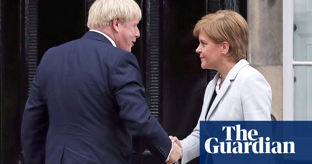 Boris Johnson accuses SNP of seeking to 'turn Scotland against itself'