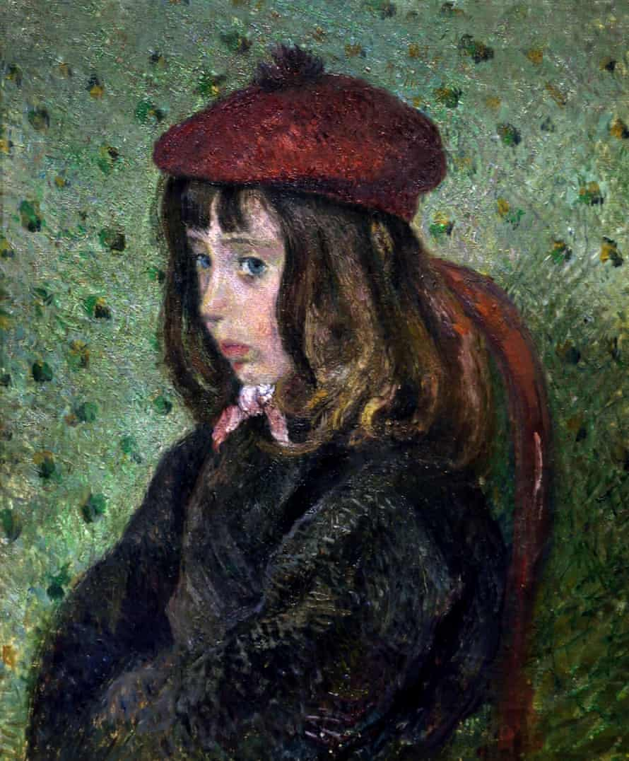 Portrait of Felix Pissarro 1881by Camille Pissarro 1830 - 1905